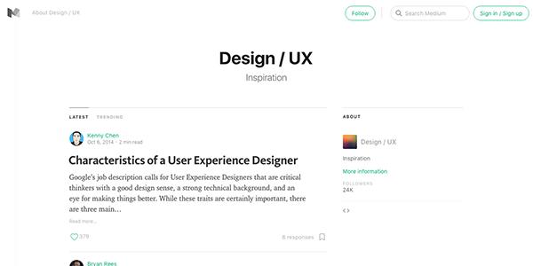 Medium-Design-UX