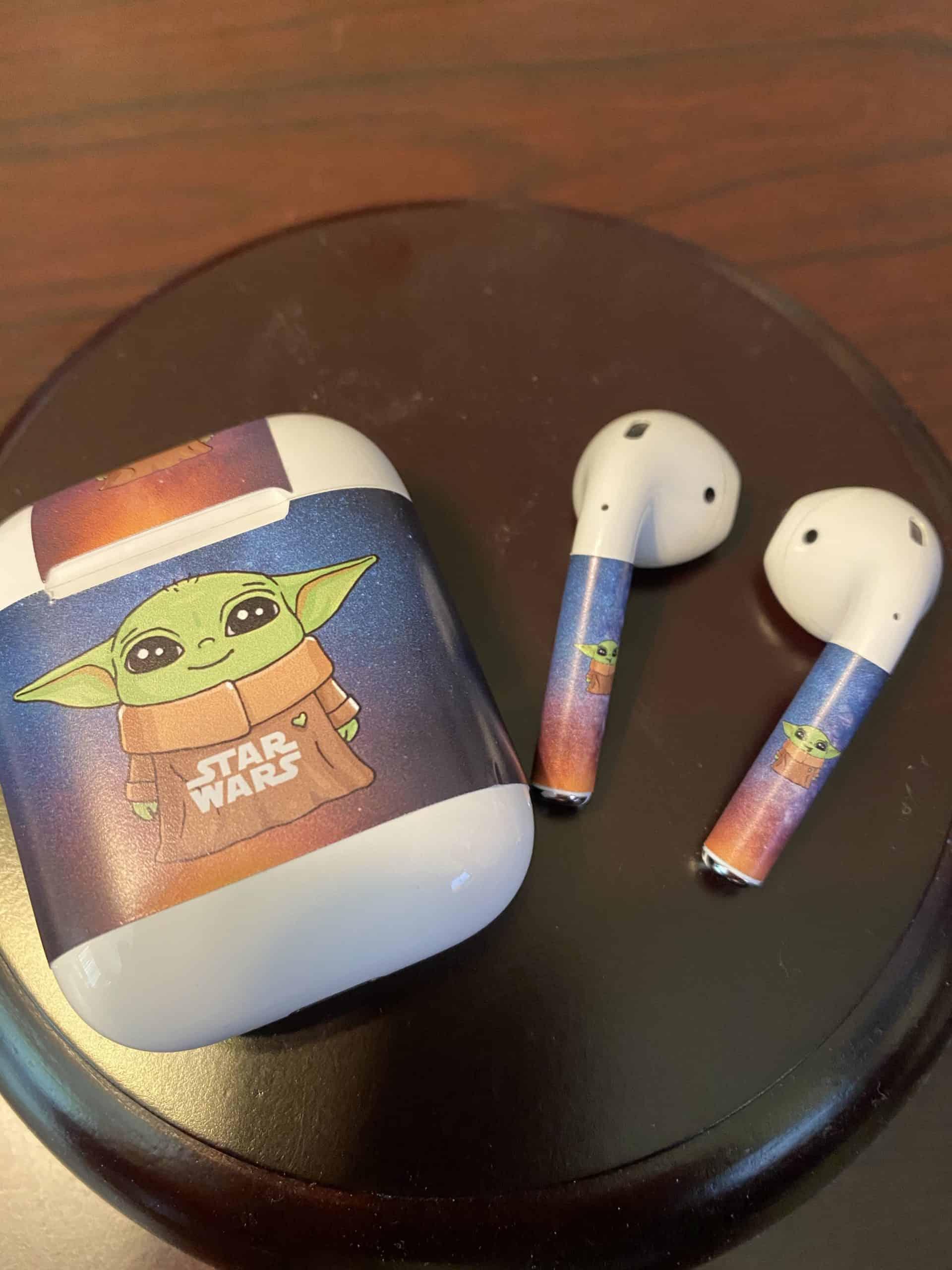 4 Piece Baby Yoda Airpod Case Wrap Vmc Communications